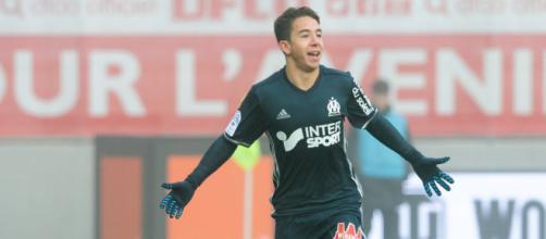 Maxime Lopez, centrocampista del Marsiglia.
