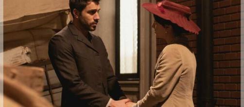 Una Vita, anticipazioni Spagna: Lucia depressa a causa del marito violento
