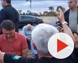 Covid-19: Bolsonaro descumpre medida de isolamento e realiza 'culto' no Planalto. (Reprodução/Redes sociais)