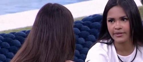 'BBB20': Flayslane confessa ciúme de Mari. (Reprodução/TV Globo)