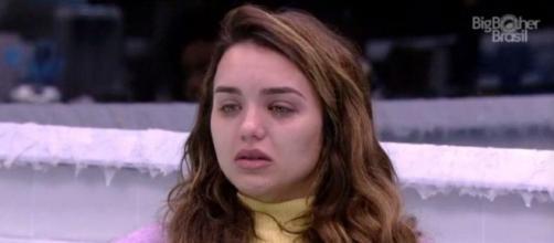 'BBB20': Rafa chora após briga com Flayslane. (Reprodução/TV Globo)
