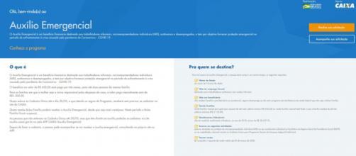 Caixa disponibiliza aplicativo para solicitação de 'coronavoucher'. (Reprodução/Caixa Econômica Federal)