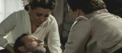 Il Segreto, spoiler dal 6 all'8 aprile: Marta è incinta, mentre Emilia rapirà suo padre
