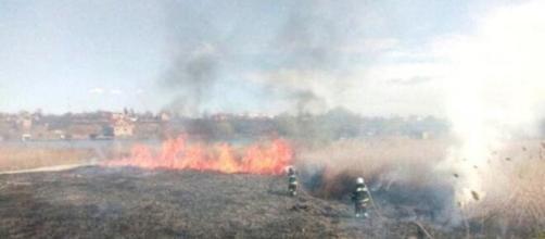 Incendio nei pressi dell'ex centrale di Cernobyl