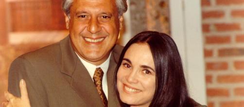 Regina Duarte e Antônio Fagundes já contracenaram em novelas da Globo. (Arquivo Blasting News)