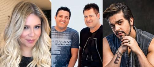 Sertanejos marcam show online para o mês de abril. (Arquivo Blasting News)