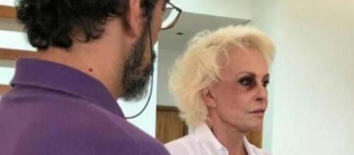 Ana Maria Braga aparece com olho roxo em seu Instagram em campanha contra violência doméstica. (Arquivo Blasting News)
