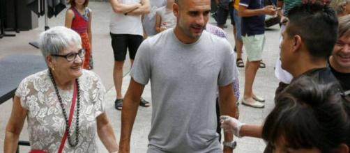 Dolors Sala Carrió, mãe do técnico Pep Guardiola, morre por coronavírus. (Arquivo Blasting News)