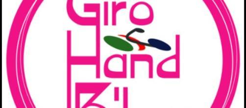 Giro Handbike Logo ufficiale rosa