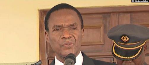Joseph Beti Assomo, Ministre Délégué à la Présidence, chargé de la Défense (c) Edwin Kindzeka (VOA)