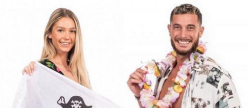 Les Marseillais aux Caraïbes : Éloïse et Nacca s'affichent enfin en couple après le tournage. ®W9