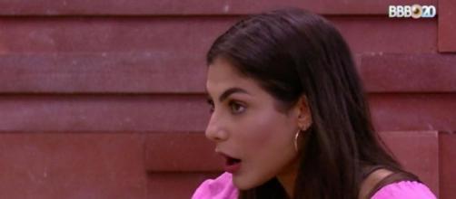 Mari tem conversa com Manu. (Reprodução/TV Globo)
