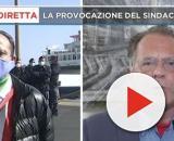 Scontro in tv tra Cateno De Luca e Cecchi Paone.