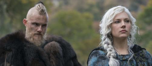 """5 artistas da série """" Vikings"""" que mudaram muito suas fisionomias. ( Arquivo Blasting News )"""