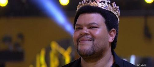 Babu Santana sofre ataques racistas, diz familiares. (Reprodução/TV Globo)