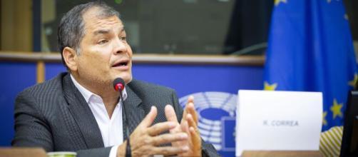 Bribery trial begins against ex-Ecuador leader Rafael Correa (Image via ABCNews/Youtube)