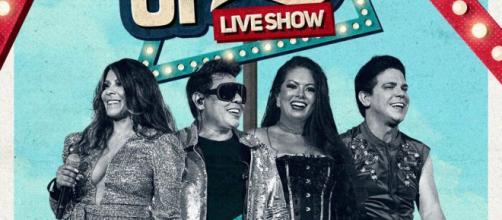 Calcinha Preta atende o pedido dos fãs e confirma show online. (Divulgação/ Twitter oficial)