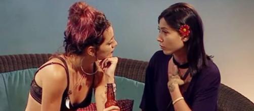 Gabi Prado e Raíssa discutiram por Fagner. (Reprodução/MTV)