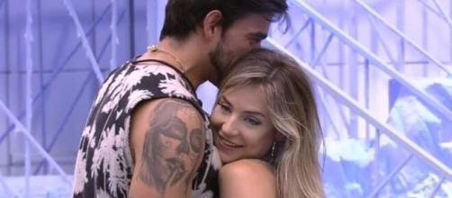 Gui e Gabi durante o 'BBB 20'. ( Reprodução/TV Globo )
