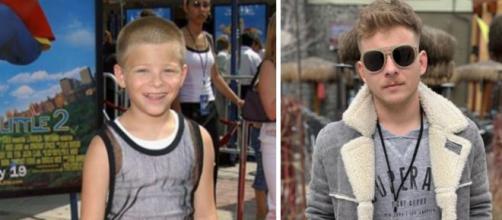 Imagens mostram o antes e depois do ator Jonathan Lipnicki. (Fotomontagem)