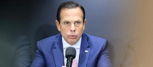 João Doria anuncia a construção de um novo hospital dentro do estádio de futebol. (Arquivo Blasting News)