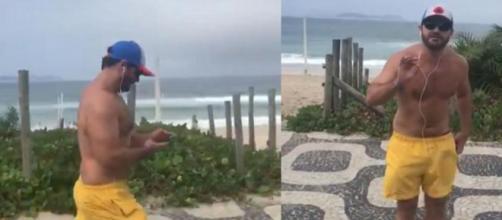 Jornalista da GloboNews é hostilizado após caminhar na orla na praia no Rio. (Arquivo Blasting News)