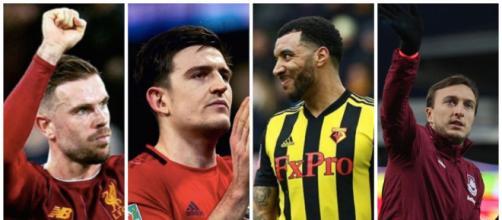 Les joueurs de PL vont faire un don de 4,5 millions d'euros. Credit : Instagram jhenderson/harrymaguire93/t_deeney/Wikimedia Commons