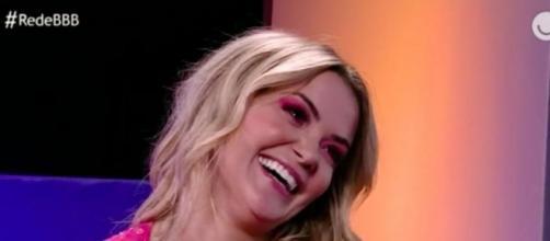 Marcela é entrevistada por Ana Clara após deixar 'BBB20'. (Reprodução/TV Globo)