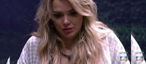 Marcela foi de uma das favoritas a eliminada após a entrada de Daniel. (Reprodução/ TV Globo).