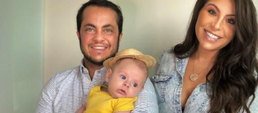 Andressa e Thammy tiveram Bento através de uma inseminação artificial. Foto: Reprodução/ Instagram/ @andressaferreiramiranda
