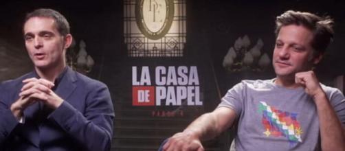 Ator da série 'La Casa de Papel' pede 'Lula livre' durante entrevista. (Reprodução/Twitter/@LulaOficial)