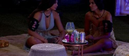 'BBB20': Ivy e Mari se mostram sem otimismo para vencer o reality. (Reprodução/TV Globo)