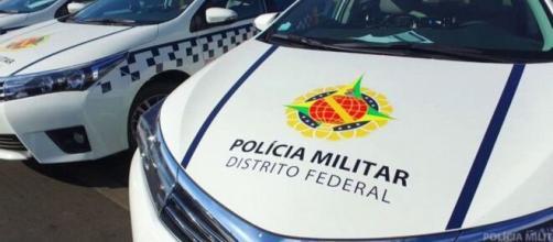 Cadeirante é solto após arrancar parte da orelha de policial militar. (Reprodução/Polícia Militar/DF)