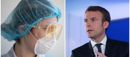Coronavirus : le coup de gueule d'une infirmière contre Emmanuel Macron. Credit : Pexels EVG photos/Instagram emmanuelmacron