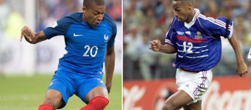 Coupe du Monde : le comparatif entre France 1998 et France 2018 (Credit : rtl.fr)