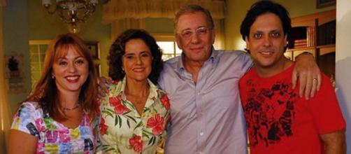 Famosos de 'A Grande Família' nos dias atuais. (Reprodução/TV Globo)