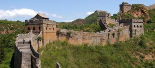 Great Wall of China near Jinshanling. [Image source/Jakub Halum, Wikimedia Commons}