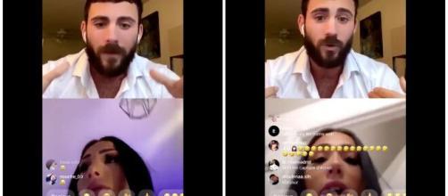 Léana et Ilan se disputent en direct sur Instagram : il l'aurait trompé
