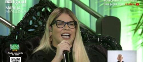 Live de Marília Mendonça passa de J&M e ultrapassa recorde. (Arquivo Blasting News)