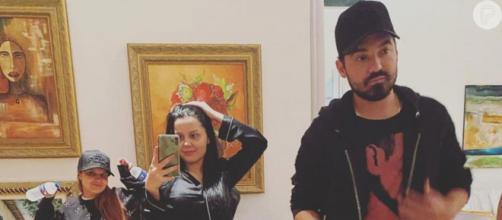 """Maraisa elogia foto ousada de Maiara junto com Fernando Zor: """"casal sexy"""". ( Arquivo Blasting News )"""