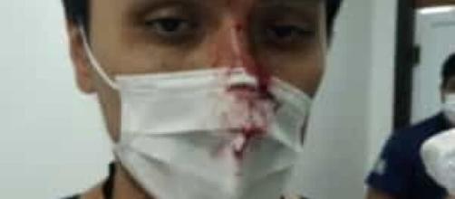 Médico foi agredido com um soco e teme ter pegado coronavírus. (Simepar/Divulgação)