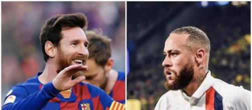 Mercato PSG : Pour Neymar ce sera 200 millions d'euros ou Messi. Credit : Instagram/leomessi/neymarjr
