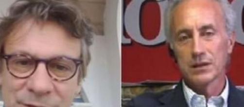 Nicola Porro attacca Marco Travaglio