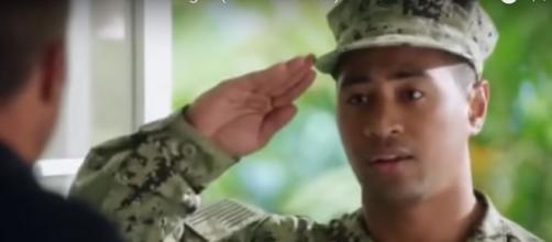 Beulah Koale goes from his first 'Hawaii Five-O' salute to a coming role in 'Dual' and other big screen films. [Image Source: DaniRuah/YouTube]