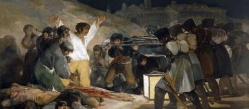 Francisco de Goya y Lucientes. Los fusilamsilamientos del 3 e mayo
