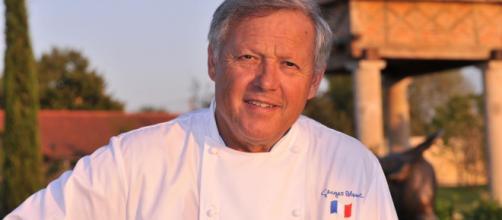 Georges Blanc, le célèbre chef de Vonnas, 3 étoiles Michelin, demande la levée du confinement au Président Macron. Wikimedia Commons