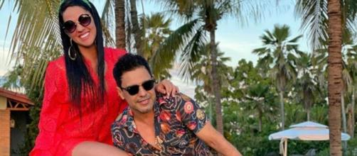 Graciele Lacerda e Zezé Di Camargo planejam ter filhos. (Reprodução/Instagram/@zezedicamargo)