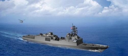 Il design della nuova fregata della US Navy secondo una ricostruzione