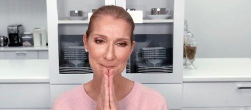 """La vidéo de Céline Dion pour le """"Stronger together, tous ensemble"""" déçoit. Credit : Instagram/celinedion"""