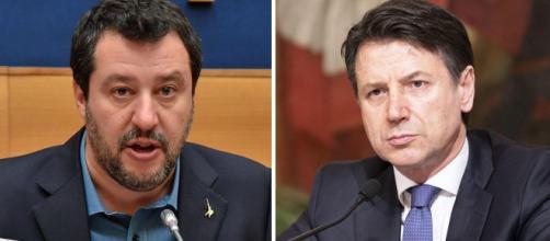 Matteo Salvini attacca il Governo Conte.